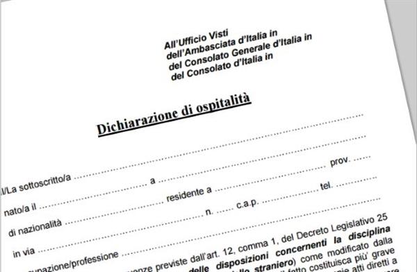 La carta di invito per cubani richiesta dall ambasciata for Carta di soggiorno per familiare di cittadino ue