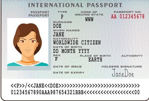 copia passaporto