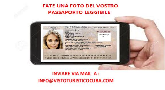 foto passaporto